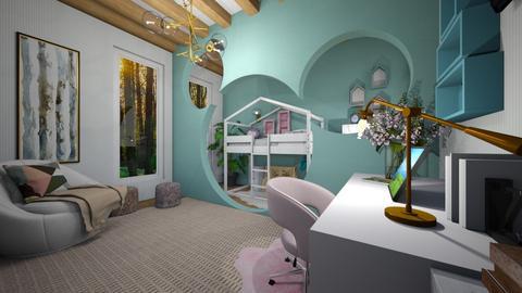 home - Kids room  - by mo_de_in_studio