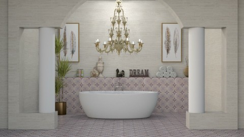 DREAM - Bathroom  - by meggle