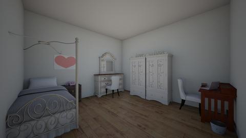Habitacion  - Classic - Bedroom  - by xKATExPK