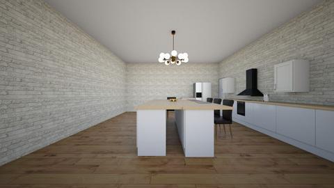kitchen - Modern - Kitchen  - by gaddyst