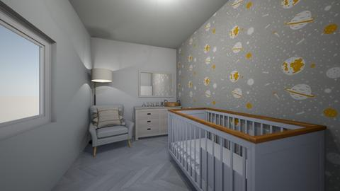 A S H E R - Kids room  - by blueberry_pie26