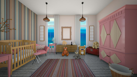 ecalectica3 - Kids room  - by crz