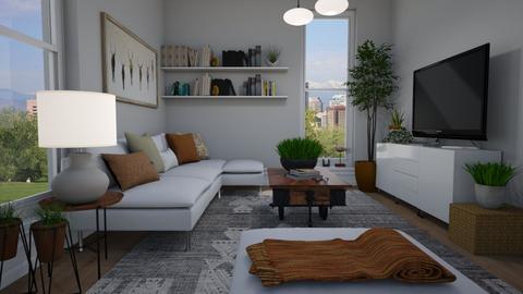 Small livingroom plants - Living room  - by Thrud45