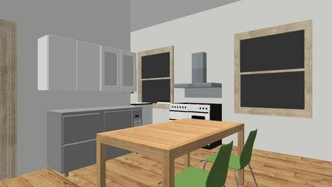 working plan opt 1 - Kitchen  - by jpmoynihan