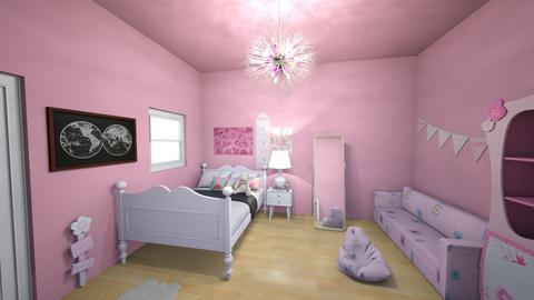 kawaii room - Feminine - Bedroom  - by emmapilled