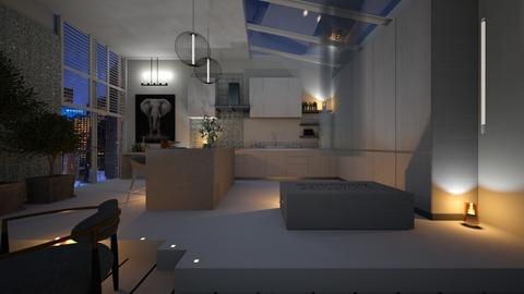 MODERN KITCHEN - Kitchen  - by zarky