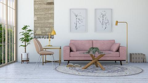 blush - Rustic - Living room  - by YourSisterTho