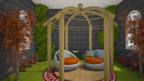 p.v's garden - Classic - Garden  - by Margret Arora