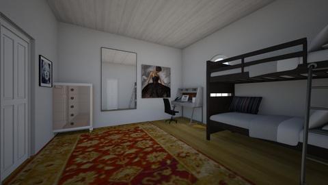 student loft - Classic - Bedroom - by Percilla Dyke