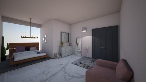 pink marble - Bedroom - by awood23