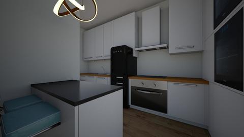 kitchen sample3 - Kitchen  - by eezwaniey81