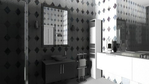 douuche - Glamour - Bathroom  - by Hanane Haidoune