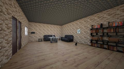 addams family neighbor  - Living room  - by Orlando Olivas