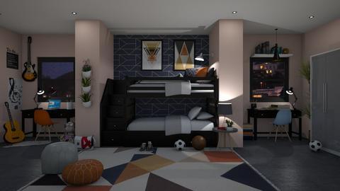 Boyssss - Kids room  - by lovedsign