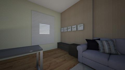 ovor office - Modern - Office  - by sepslytherin_corgi303