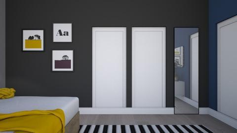 Master bedroom - Bedroom - by siljaj