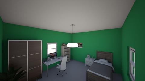 My room - Global - Bedroom  - by Filip Vermezovic