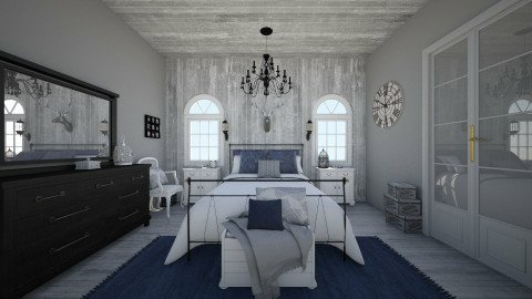 rustic chic - Rustic - Bedroom  - by Malwalker02