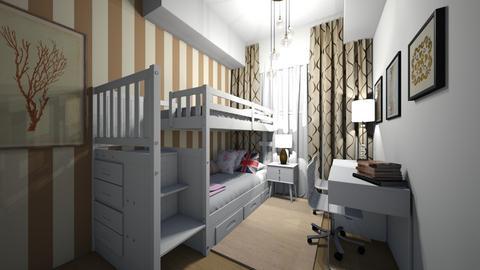 Detsky po pro dva - Kids room  - by HanaDocekalova