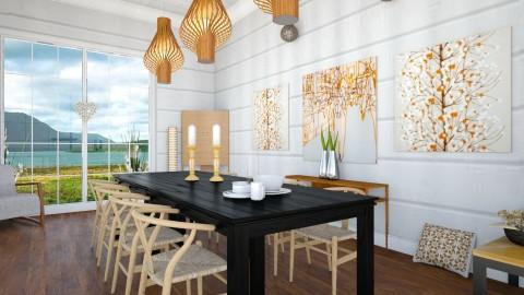 Gloc - Retro - Dining room  - by camilla_saurus