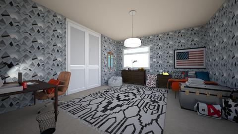 Student dorm - Modern - Bedroom  - by shelbyg97