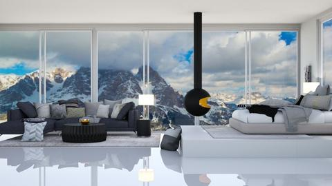 Mountain Bedroom_2 - Bedroom  - by TropicalWeed