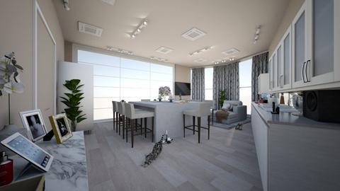Modern Rustik - Glamour - Kitchen  - by jarellano89