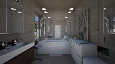 tiny bathroom - Bathroom  - by Miriam09