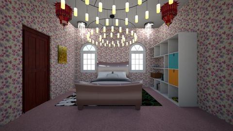 A simple room - Bedroom - by Lani torres