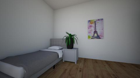 slaapkamer 3d - Modern - Bedroom  - by 744328