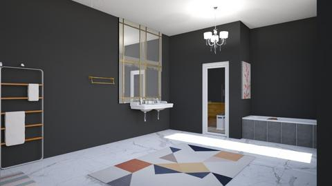 Modern Master Bathroom - Modern - Bathroom  - by ghhvghgvhvgvhvb