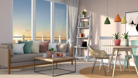 Playful living room - by ellta