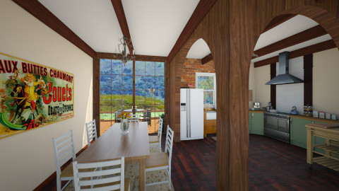 Renovated Country Kitchen - Country - Kitchen  - by ANM_975