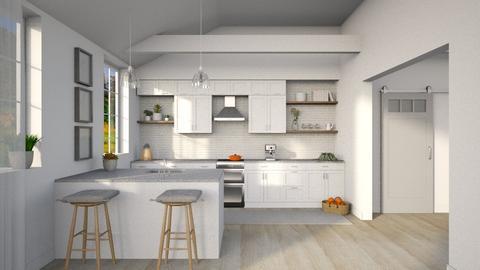 KitchenModernFarmhouse - Kitchen  - by djoleitaca