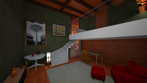 Orange Blossom - Living room  - by sfurkan