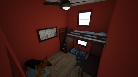 Morgan Wills room - Minimal - Bedroom  - by LHSHousing