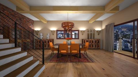 NAR - Modern - Dining room - by Saj Trinaest