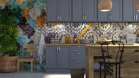 Vietri - Modern - Kitchen  - by Claudia Correia