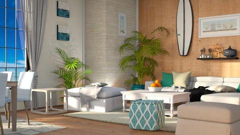 Surf Living - Modern - Living room  - by millerfam