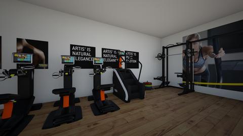 gym - by francinenicolai619