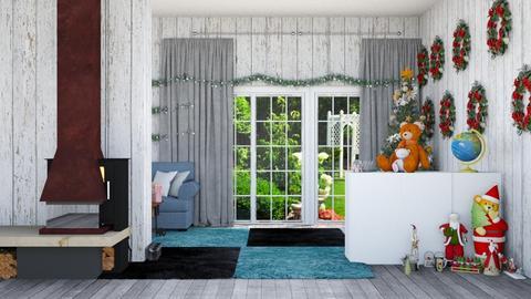 christmas living rom  - Living room  - by malithu damsath