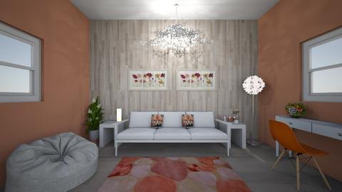 Fox Theme Modern Cabin - Modern - Living room  - by jen_mcgill21