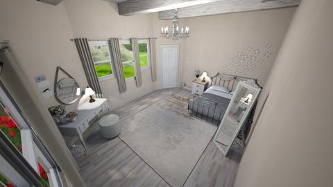 Chic Bedroom - Vintage - Bedroom  - by NikLaurayne