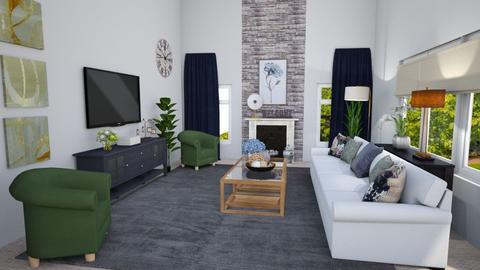 Manchester Shared - Living room  - by krdiben