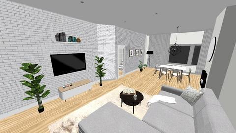 rekrutacja3 - Living room  - by annamcias