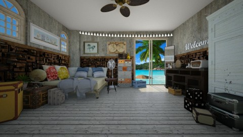 passenger - Vintage - Bedroom  - by Amorum X