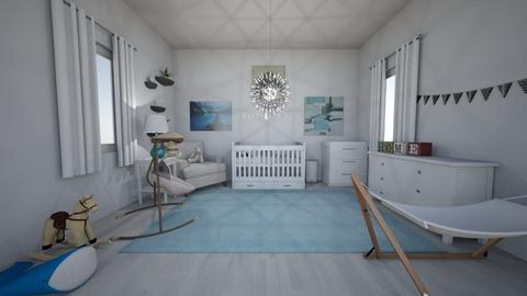 Baby Boy Nursery - Modern - Kids room  - by cbruno23