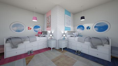 CR Kids Bedroom - Kids room  - by weinsteinkids