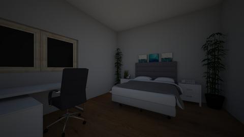 Master Bedroom - by Rovel_Mae