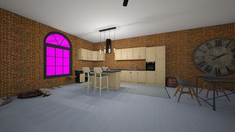 Apt kitchen  - by saratevdoska